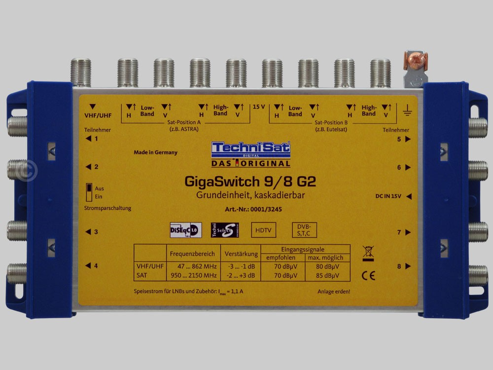 Technisat gigaswitch 9 8 g2