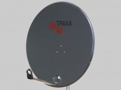 Triax TDS 78 A-1 - Stahl-Antenne - antrazith